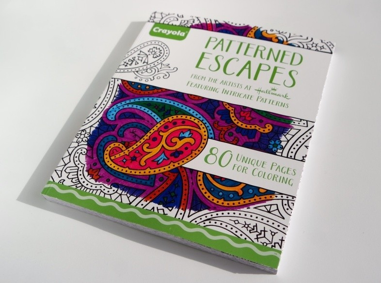 Crayola Elegant Escapes book