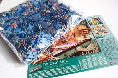Ravensburger Craft Shed jigsaw