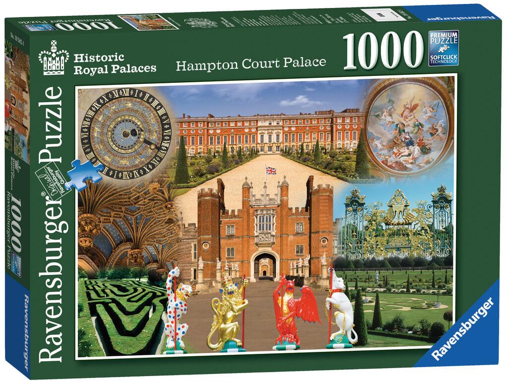 Review Ravensburger Hampton Court Palace Jigsaw Mama Geek