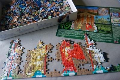 Hampton Court puzzle
