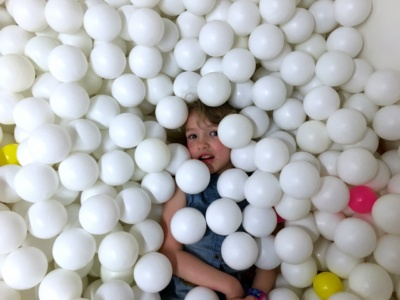 New Rule: Everyone should get to spend some of their birthday in a giant ball pit.