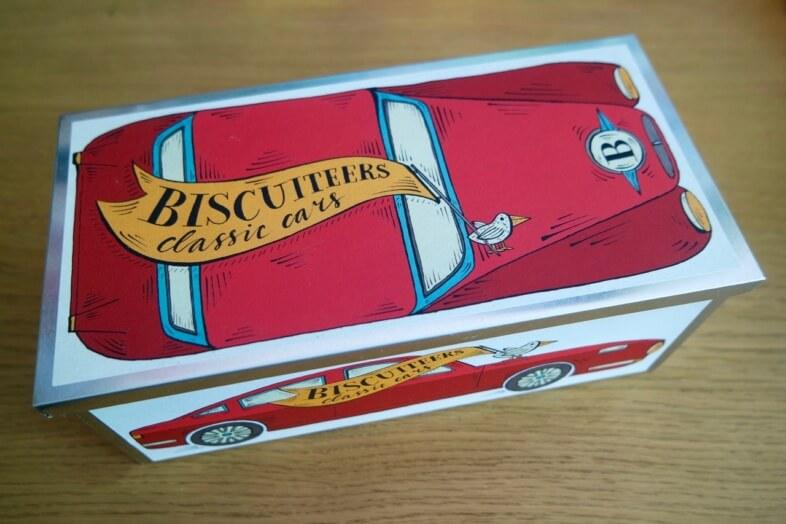 Biscuiteers Classic Car tin