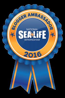Sea Life Blogger Ambassador 2016