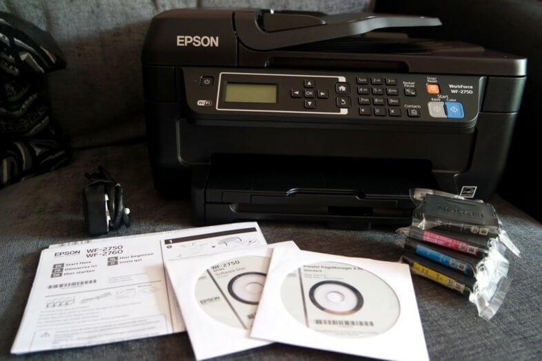 Epson WorkForce WF-2750DWF Printer Review
