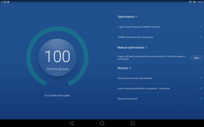 MediaPad Tablet Manager