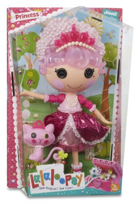 Lalaloopsy Princess Jewel Sparkles Doll with Pet