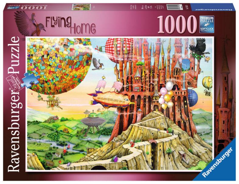 Ravensburger Flying Home 1000 piece jigsaw