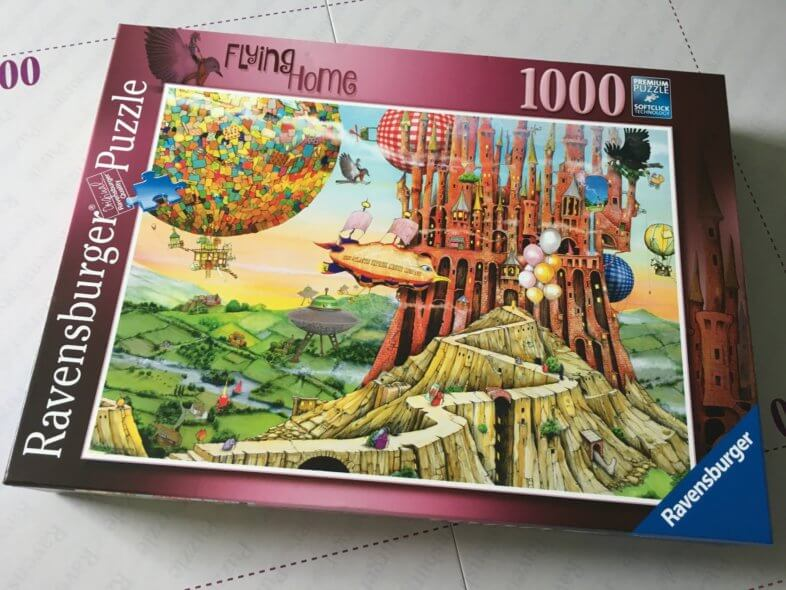 Ravensburger Flying Home puzzle