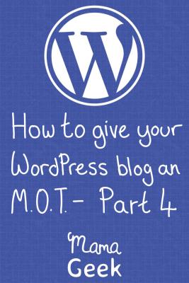 WordPress MOT - Part 4 - My favourite plugins