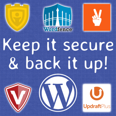 Keep it secure & back it up