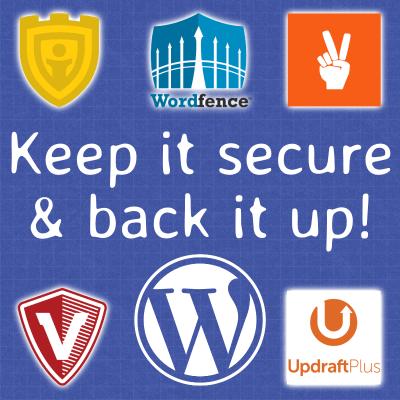 Keep it secure & back it up