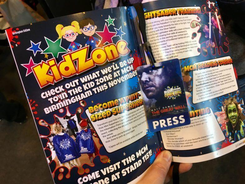 KidZone at MCM Comic Con