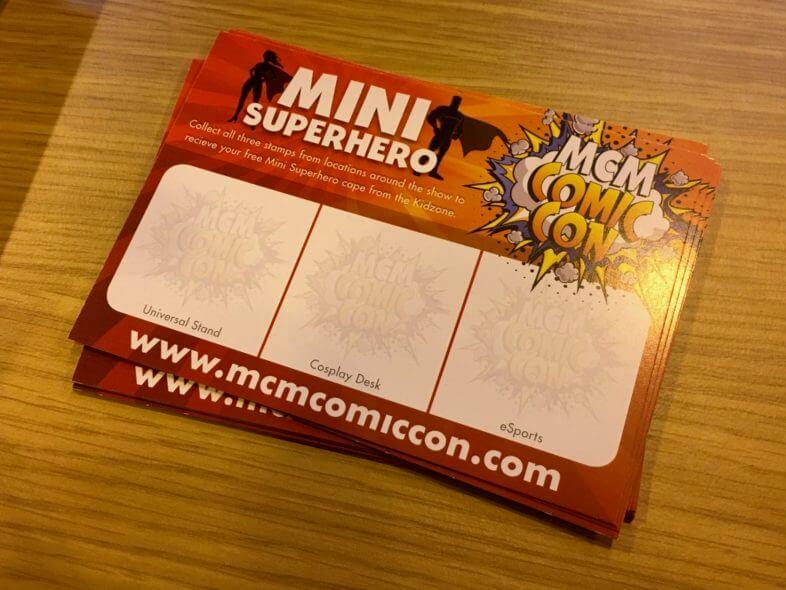 Mini Superhero at MCM Comic Con