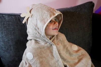 Cuddledeer toddler towel