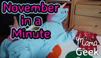 November in a Minute