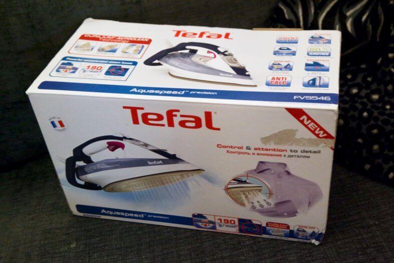Tefal Aquaspeed Steam Iron Review