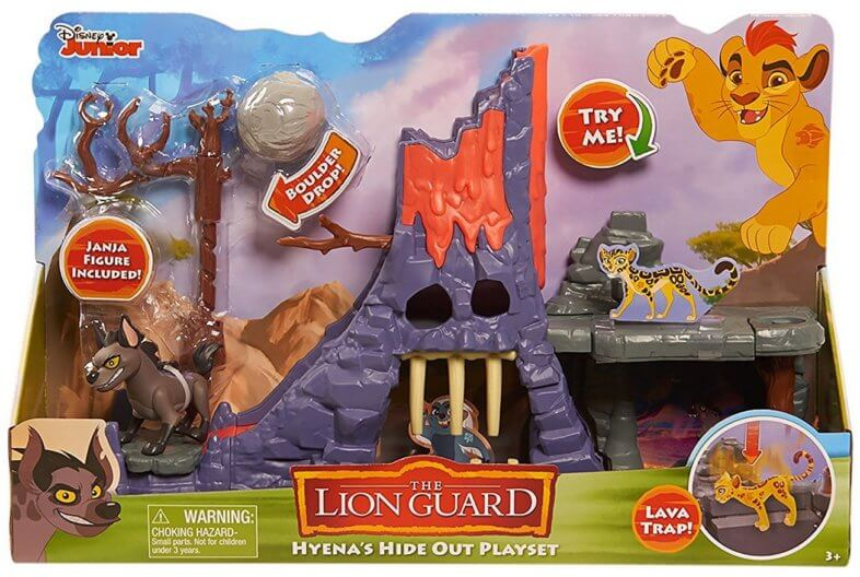 Hyena's Hideout and Playset