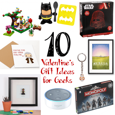 Valentine Gift Guide for Geeks