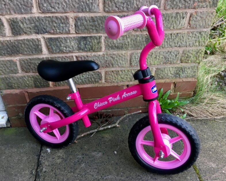 Chicco Pink Arrow Balance Bike