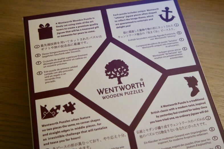 With Love - Wentworth Wooden Jigsaw Puzzle