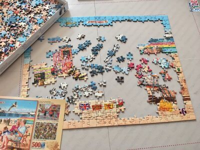 A Day at the Beach Jigsaw puzzle review