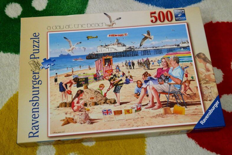 A Day at the Beach Jigsaw puzzle