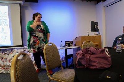 Me speaking at BlogOn