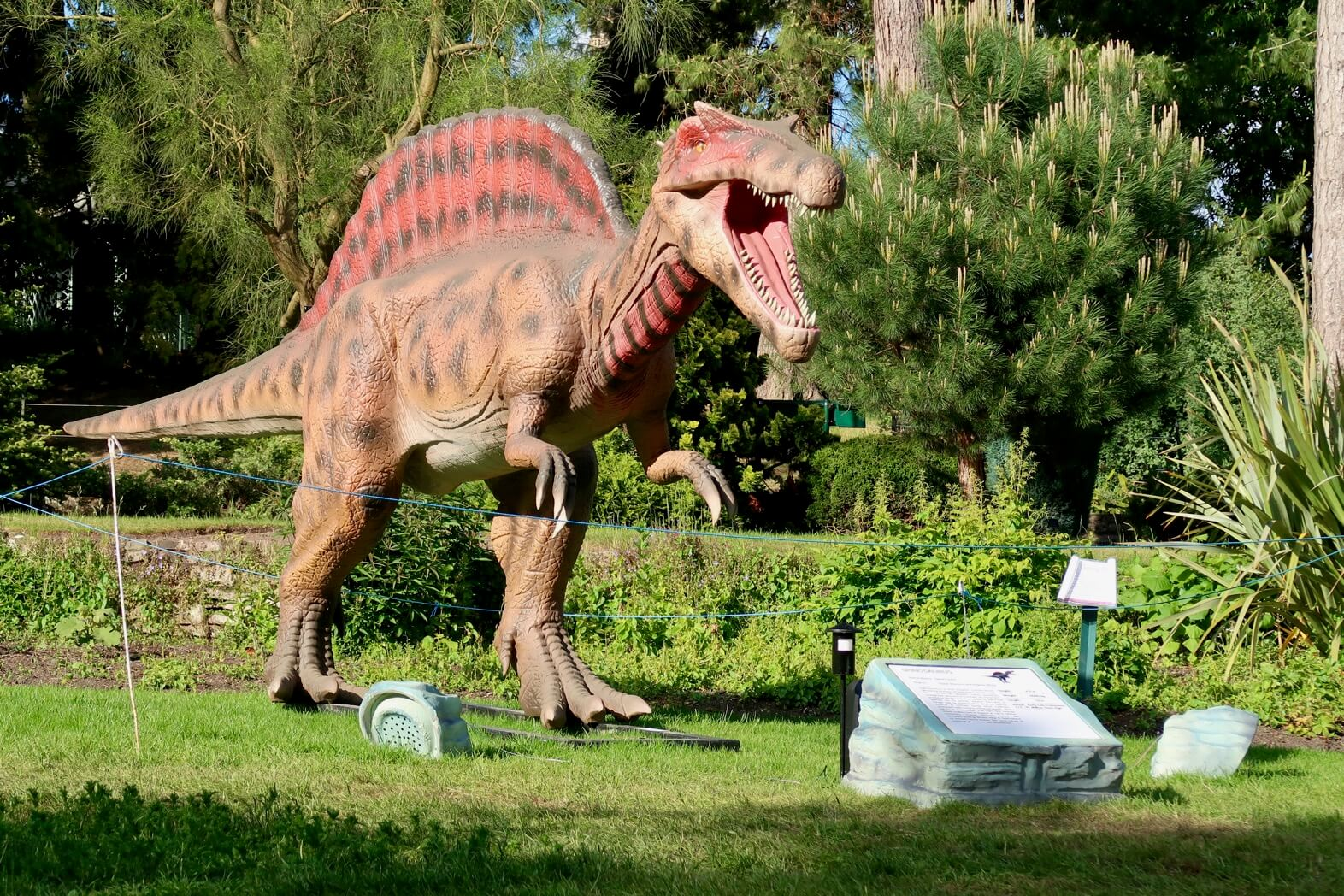 Jurassic Kingdom At Birmingham Botanical Gardens