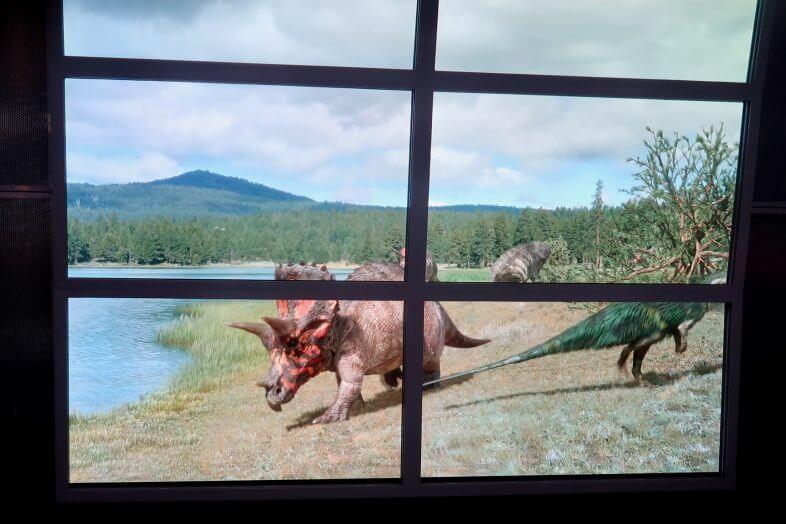 Dinosaurs in the Wild, NEC