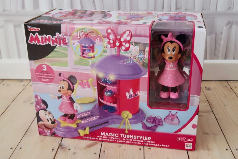 Minnie Mouse Magic Turnstyler in the box
