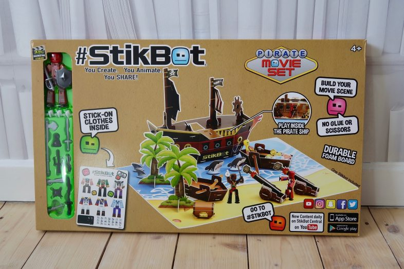 StikBot Pirate Movie Set Review