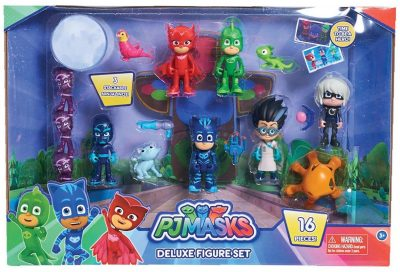 PJ Masks Deluxe 16 Pack Figure Playset