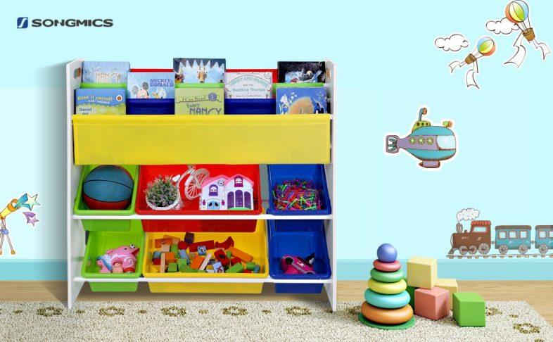 Giveaway songmics toy storage unit mama geek - Estanterias infantiles online ...