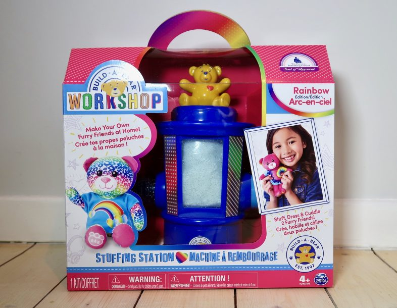 Build a Bear Stuffing Station box