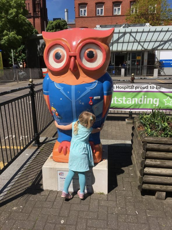 Hugging the BCH Owl