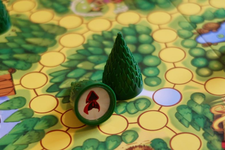 Enchanted Forest Board Game - a tree