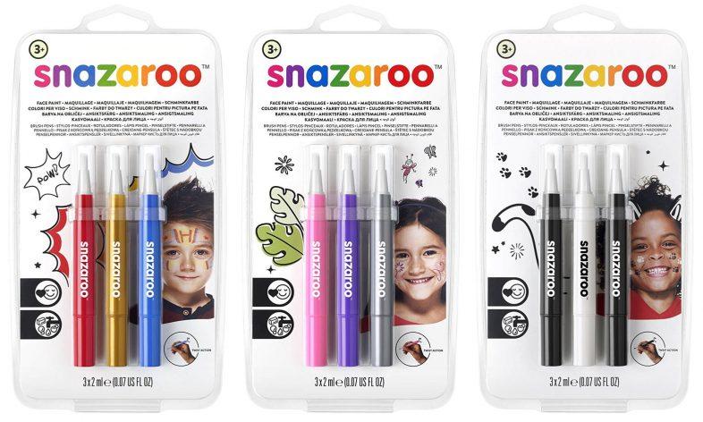 Snazaroo Face Paint Brush Pens Review