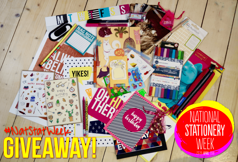 National Stationery Week Giveaway