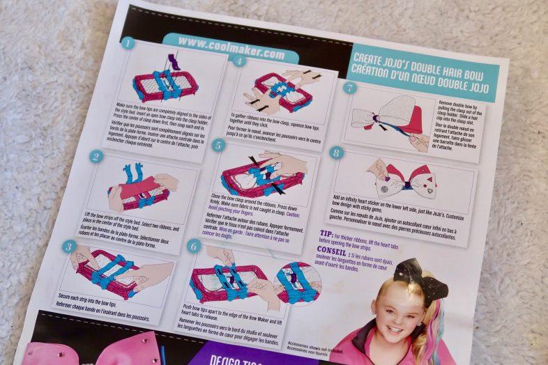 Review: Sew Cool Jojo Siwa Bow Maker Playset ⋆ Mama Geek