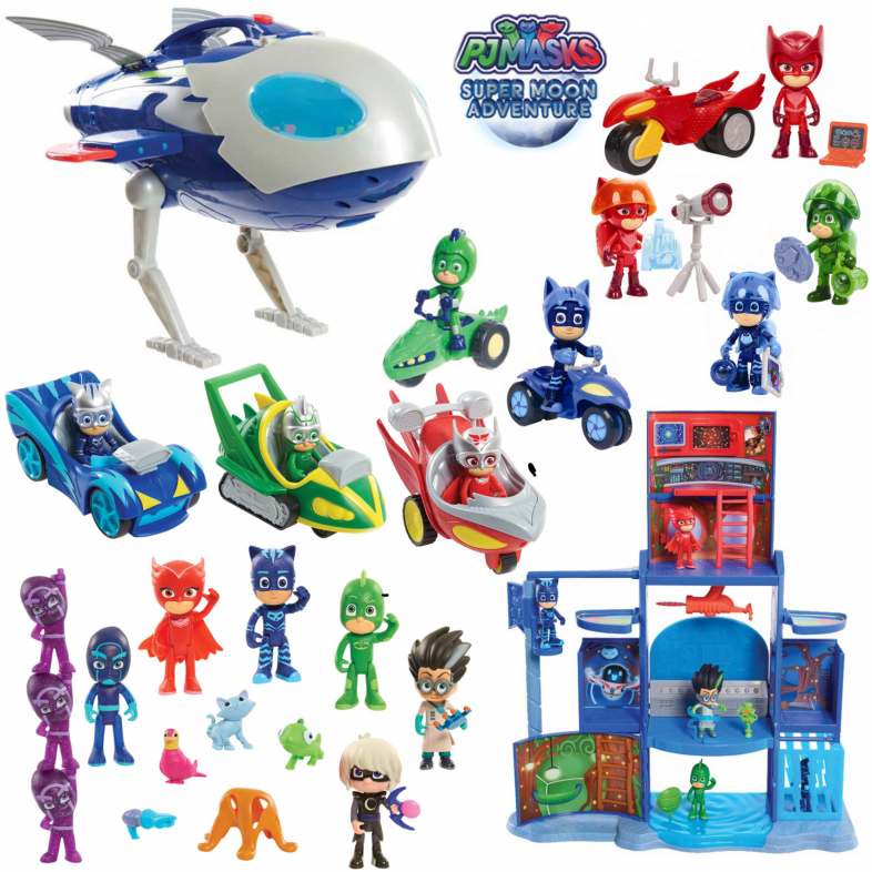 Review Pj Masks Super Moon Adventure Toy Collection Mama Geek