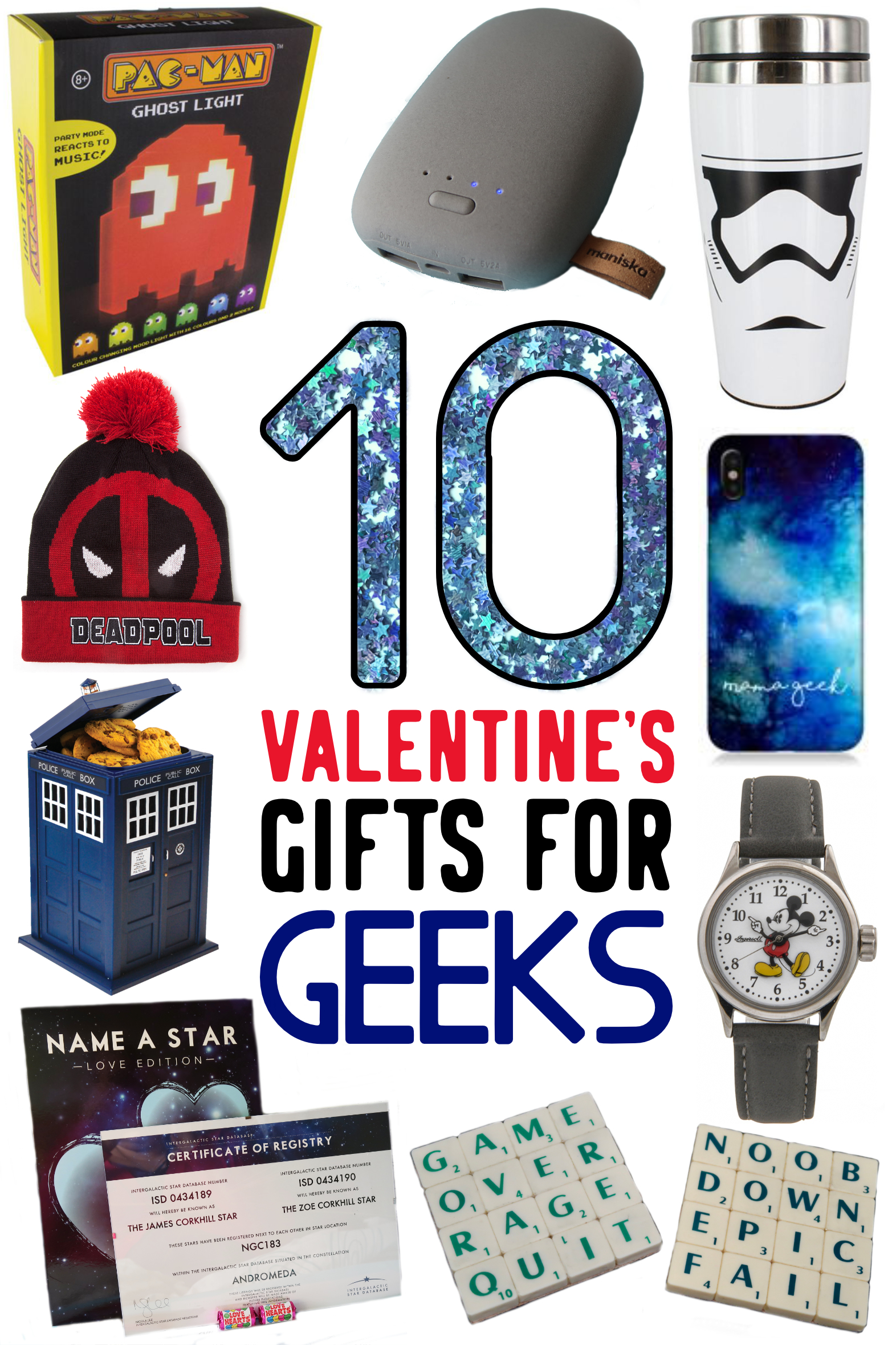10 Valentine's Gifts for Geeks - Geeky Gift Guide