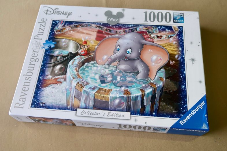 Review: Disney Dumbo Jigsaw Puzzle