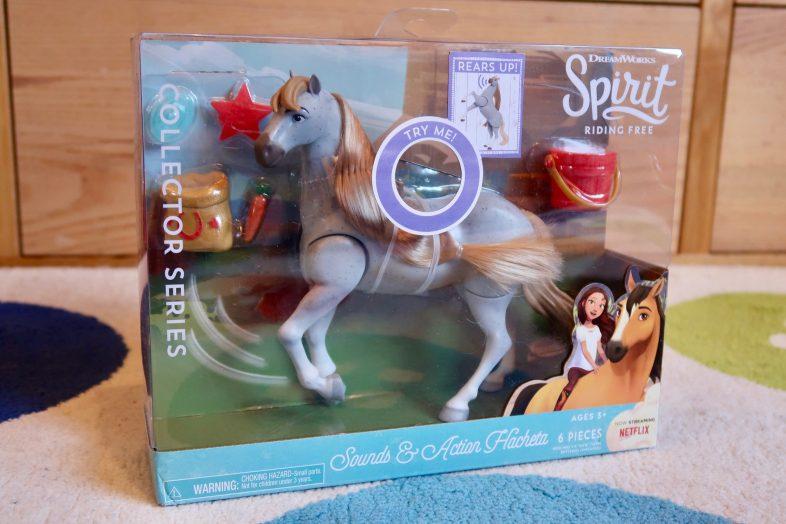 DreamWorks Hacheta Collector Action Horse Figure Riding Free Sounds